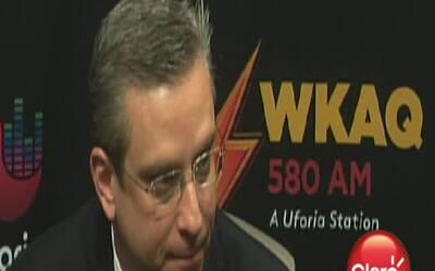 García Padilla repara sus aciertos y desaciertos en WKAQ