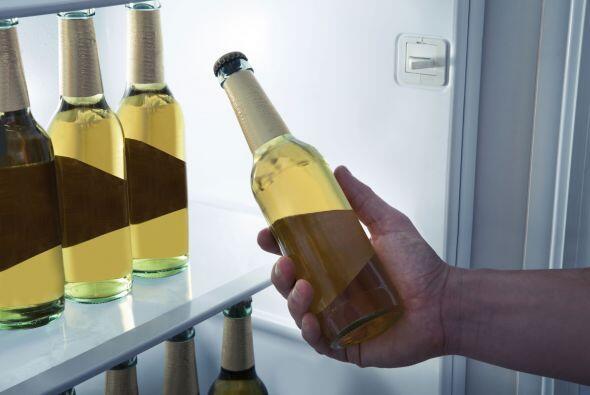 Mini refrigerador. Con tanta diversión y comodidad no querr&aacut...