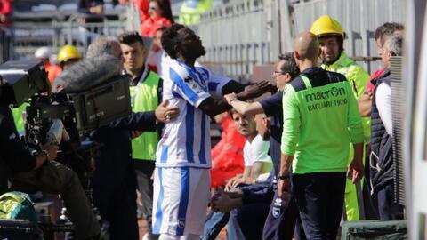 Sulley Muntari, jugador del Pescara de la Serie A