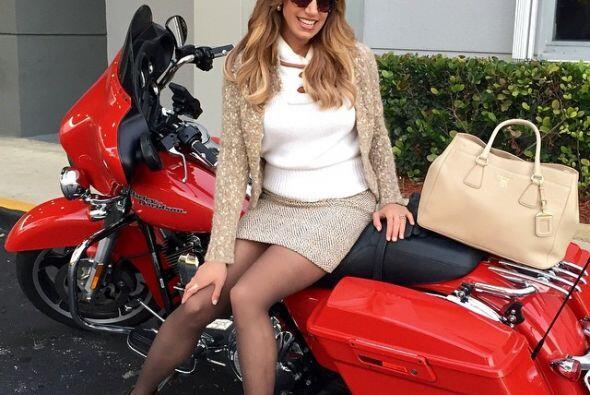 Y hasta reveló qué le quiere pedir a Santa... ¡Sí, una moto!