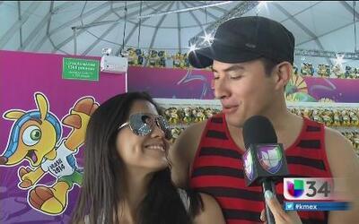 Amor y fútbol en Copa Cabana