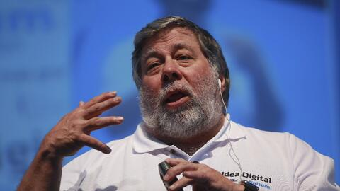 El cofundador de Apple, Steve Wozniak.