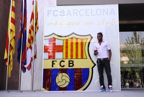 Una nueva cara se vio por las instalaciones del Barcelona, es su nuevo j...