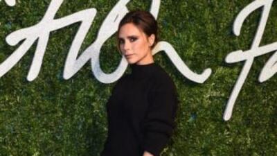 El ajetreado ritmo de trabajo de Victoria Beckham le impide vestir de la...