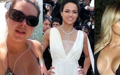 ¡Picante confesión de Michelle Rodríguez y fotos de Alicia Machado y Kim...