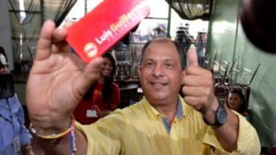 El presidente electo de Costa Rica, Luis Guillermo Solís, era un profeso...