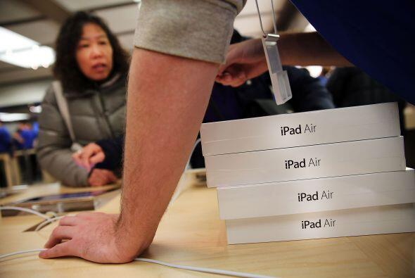 14. El iPad Air pasa de 499 dólares a solo 479 más una tarjeta de regalo...