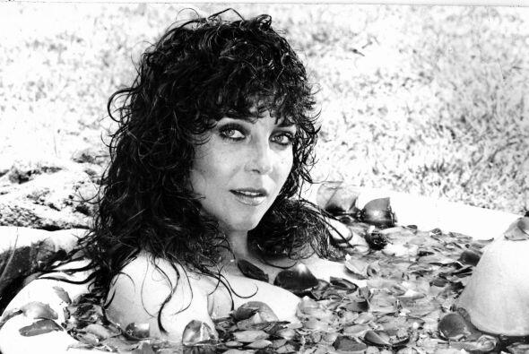 Verónica Castro cuando protagonizó junto con Guillermo Capetillo la tele...