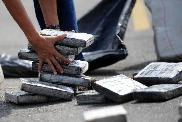 Junto a las labores de interdicción, el gobierno venezolano promueve a t...