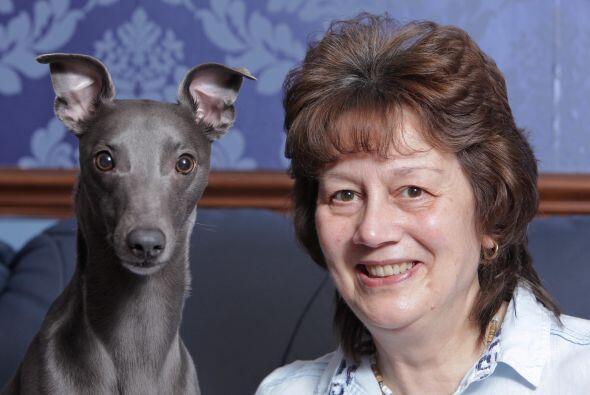 Su dueña Janet Burton adora a Rupert que es su fiel compañero.