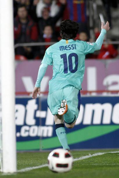 'La Pulga' no para de meter goles y demostró, una vez más,...