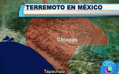 Fuerte sismo se sintió en el sur de México