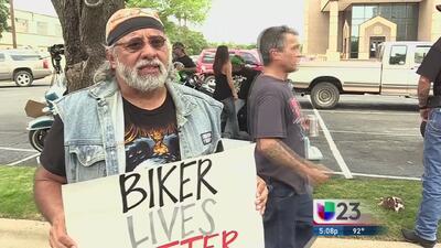 Motociclistas piden liberación de compañeros