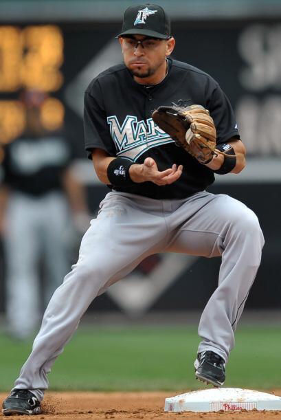 Mención honorífica: Omar Infante. El segunda base de Florida tuvo un pro...