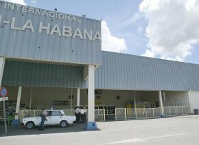 El aeropuerto José Martí en La Habana.