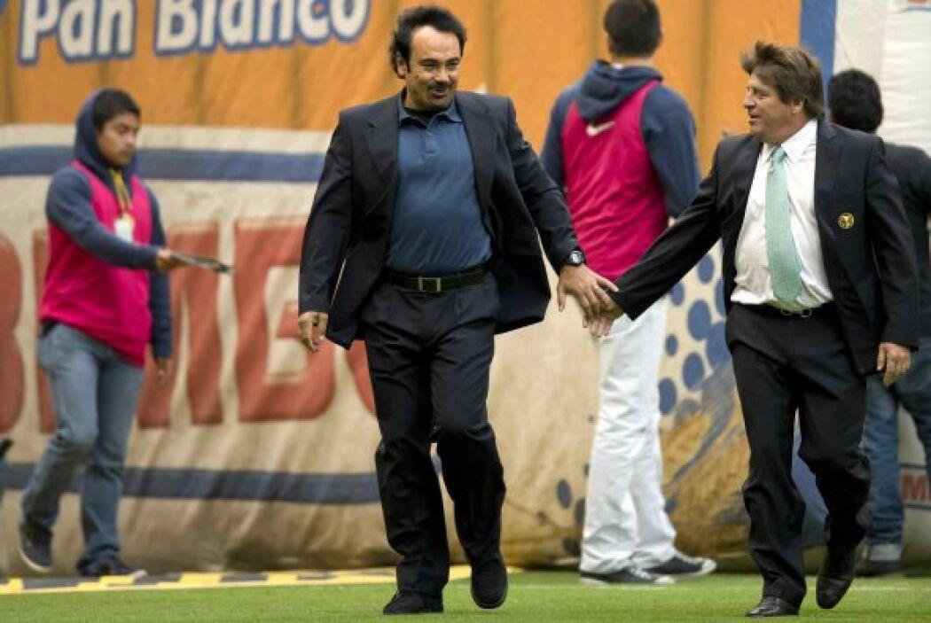 """Ahora, el """"Piojo"""" y el América tratarán de emular a los Pumas de Hugo Sá..."""