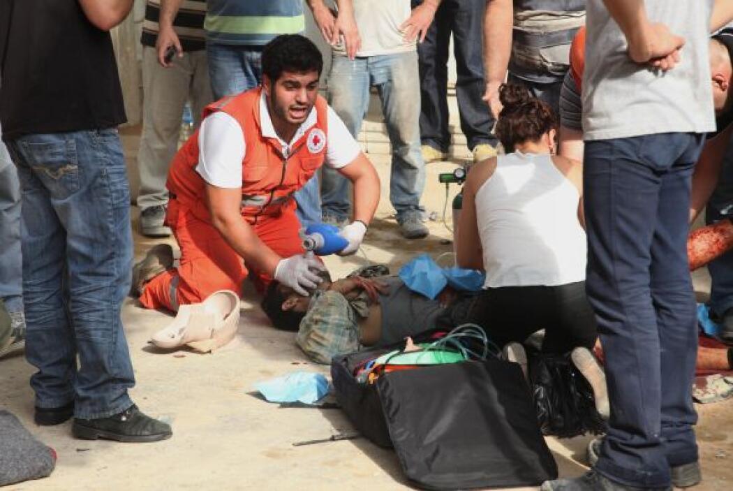 El Gobierno libanés decretó para este sábado un día de luto nacional por...