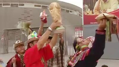 Chamanes peruanos predicen que Brasil ganará la Copa del Mundo