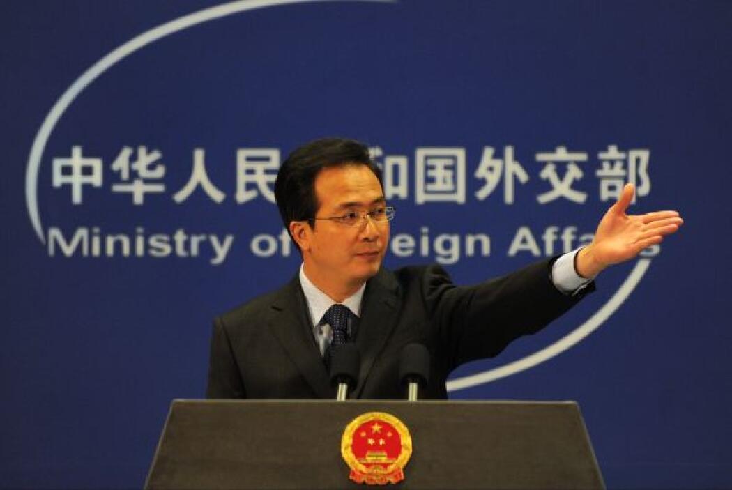 """Por esto mismo, China manifestó el 4 de enero su rechazo a sanciones """"un..."""