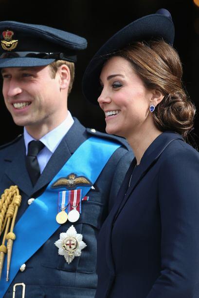 La familia Real honró a los soldados que sirvieron en Afganistán.