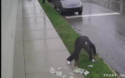 Pensó que había cometido el crimen perfecto pero el viento lo traicionó