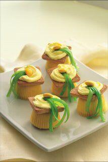 """Mini """"Muffins"""": Si comer muffins le resulta rico y divertido, esta recet..."""