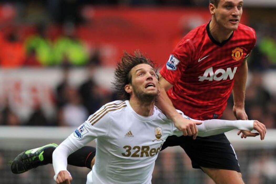 El español Michu, referente del Swansea, aparecería en cualquier momento.