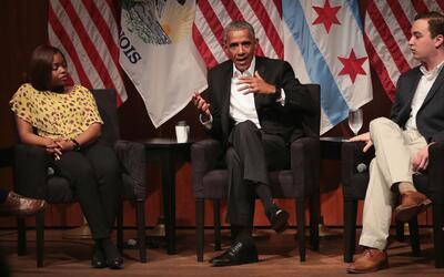 Presencia y discurso de Barack Obama en Chicago, ¿cuál es el impacto?