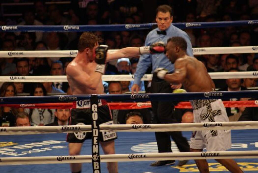 Auston Trout (26-1, 14 KOs) venía como auténtico campeón, ratificado sob...
