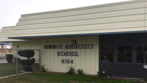 Estudiantes con necesidades especiales asisten a la primaria Addicott.