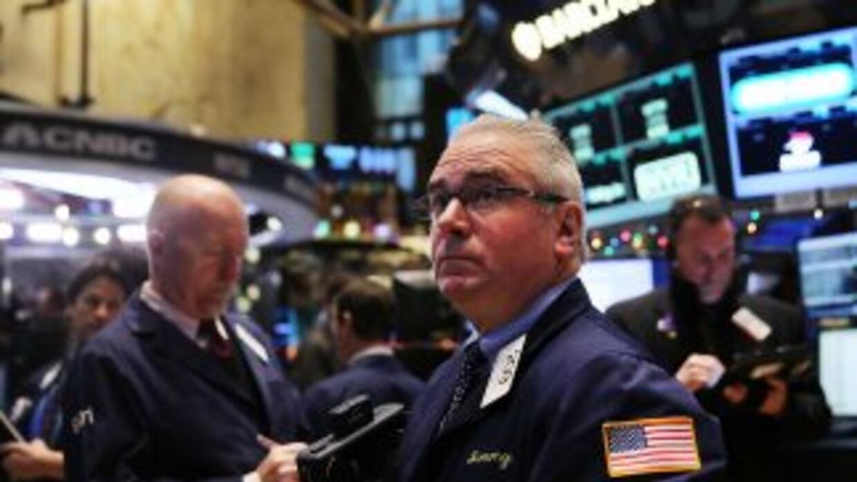 Wall Street tuvo este miércoles su primer día del año al alza.