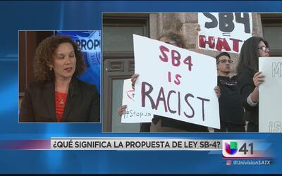 ¿Qué significa la propuesta de ley SB 4?