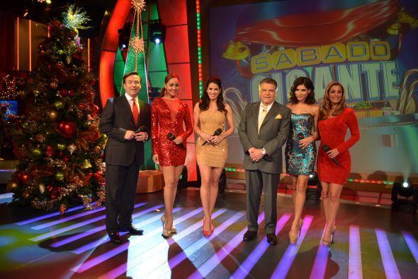 La Navidad llegó a Sábado Gigante y Don Francisco quiso darle sus mejore...