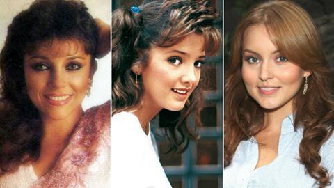 Muchas actrices de telenovela tienen rostros que se quedaron para siempr...