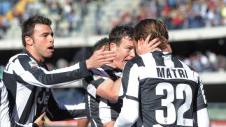 Alessandro Matri anotó el primer gol de la 'Vecchia Signora' en el triun...