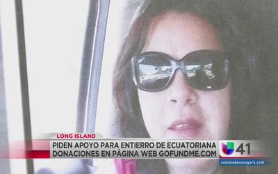 Dan sepultura a madre ecuatoriana