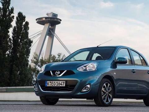 El pequeño auto de Nissan que funciona como modelo de entrada a l...