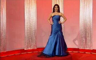 Look 360º de Giselle Blondet en la alfombra roja de Premio Lo Nuestro 2012