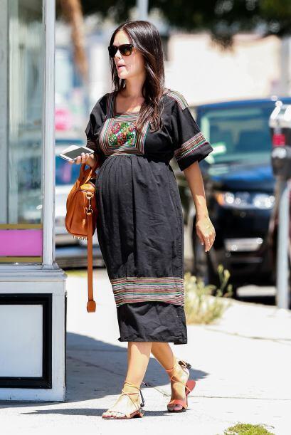 La famosa aprovechó su salida para hacer algunas compras.