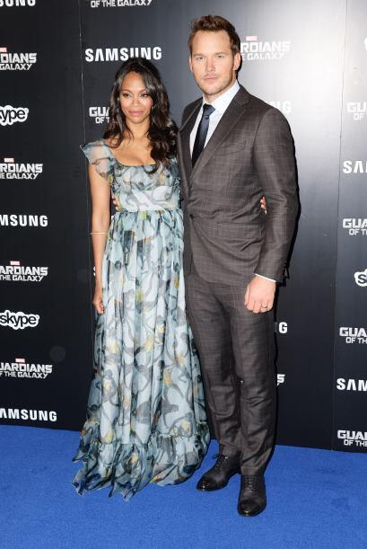 Con Chris Pratt.