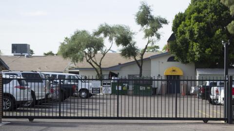 Albergue para menores en Phoenix, Arizona.
