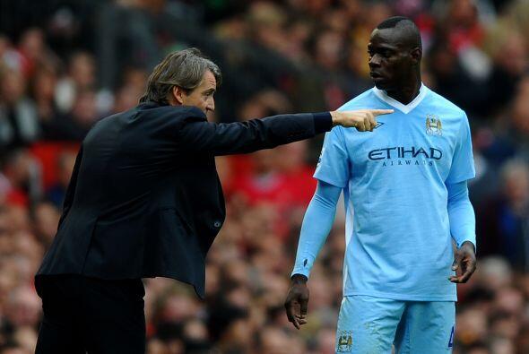 Lo más fuerte llegó por parte del entrenador Mancini, quientras el juego...