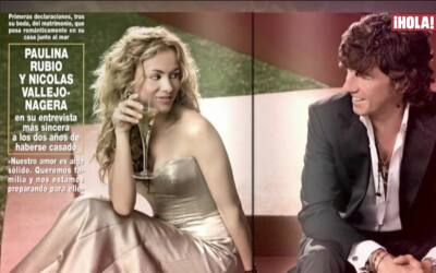 Así fue el romance de Paulina Rubio y Colate