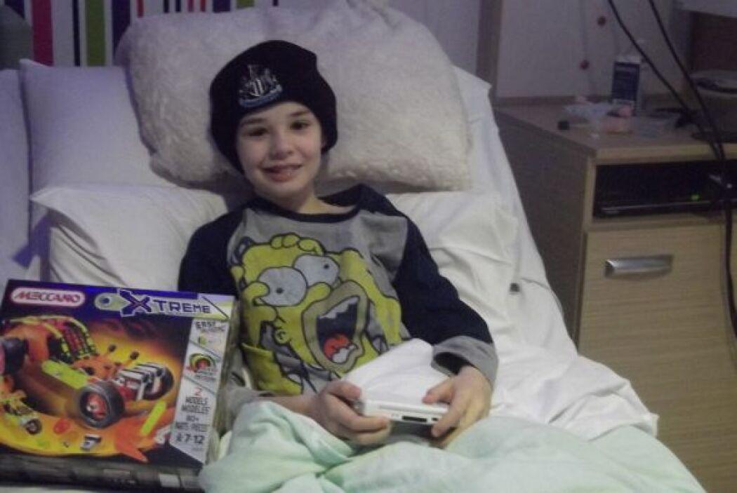 Kieran Maxwell es un joven sobreviviente al cáncer, su sueño siempre fue...