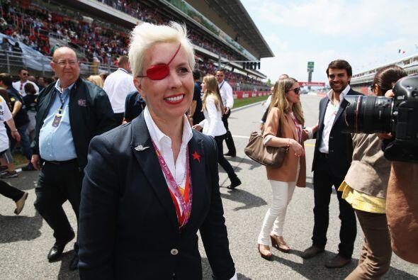 María de Villota sufrió un grave accidente en el aeródromo del Duxford r...