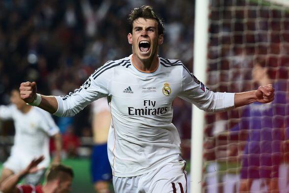 14.- Otro del Real Madrid en la lista es Gareth Bale con 36,4 millones d...