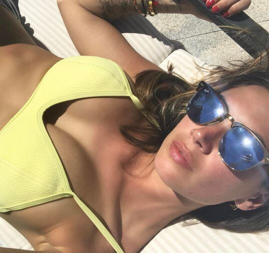 Melissa Satta es la bellísima esposa de Kevin Prince-Boateng, quien actu...