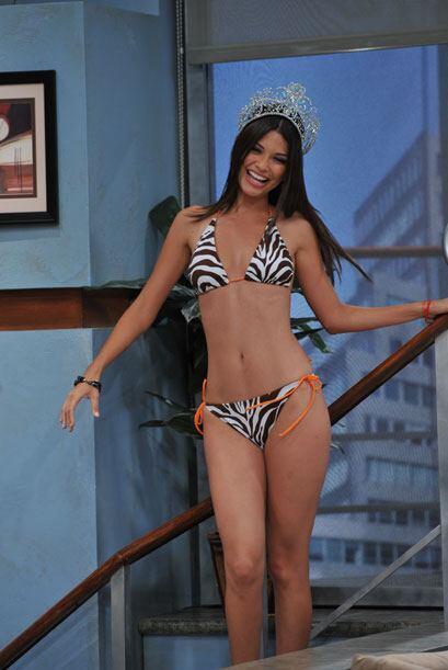 Así luce la nueva reina en bikini...