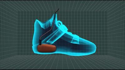 Animación muestra bombas en los zapatos
