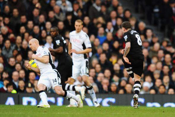 En otro de los partidos, Newcastle madrugó al Fulham con un gol d...